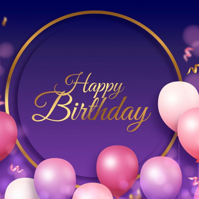 happy birthday poster Template | PosterMyWall