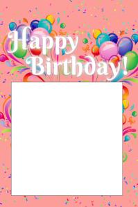 customizable design templates for birthday decor postermywall