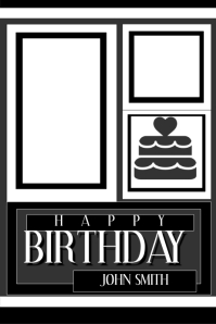 3 710 customizable design templates for happy birthday postermywall