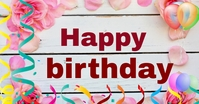 Happy birthday special wish Facebook Shared Image template