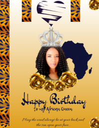 Happy Birthday to my African Queen
