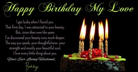 Happy Birthday Video for Facebook