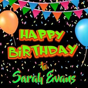 Happy Birthday Video Greeting