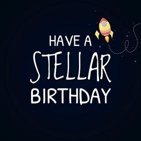 Customizable design templates for birthday greetings digital display happy birthday video greeting template m4hsunfo