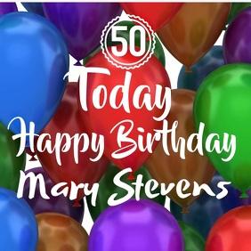 Happy Birthday Video Template