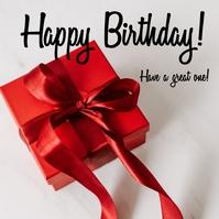 Happy Birthday Wishes Обложка альбома template