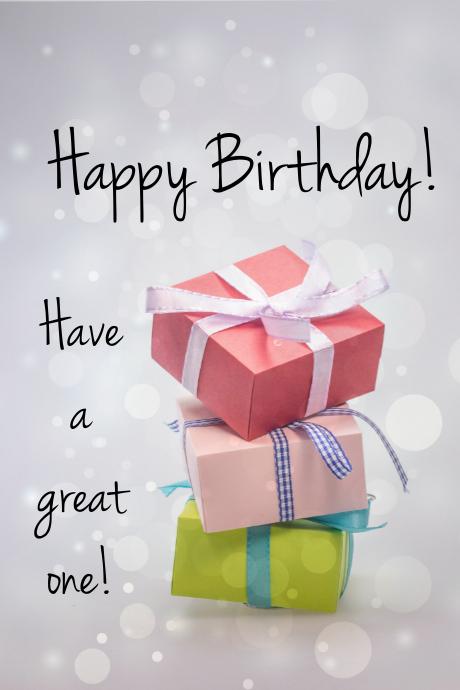 Happy Birthday Wishes Illustration Tumblr template