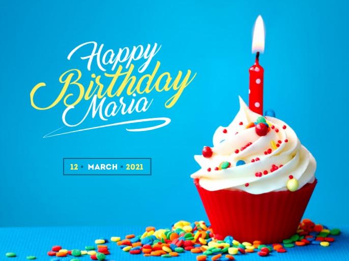 Happy Birthday Wishes Presentation template