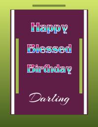 Happy Blessed Birthday Darling