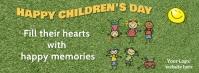 happy children Facebook Omslag Foto template