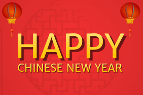 Happy Chinese New Year Template 2017