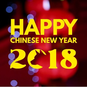 Happy Chinese New Year Instagram Video Template