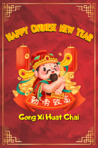 Happy Chinese New Year of Mouse 2020 12
