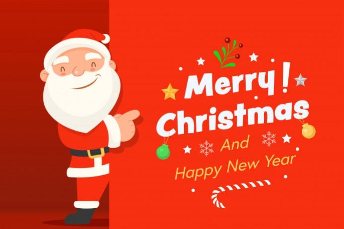 Happy Christmas Tatak template