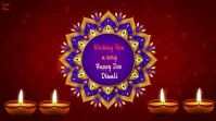 Happy Dev Diwali Wishes animated video Digital na Display (16:9) template