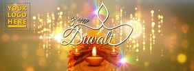 Happy Diwali 2017 Facebook Omslag Foto template