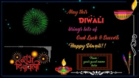 Happy Diwali Animated Gif 2019 Digital Display (16:9) template