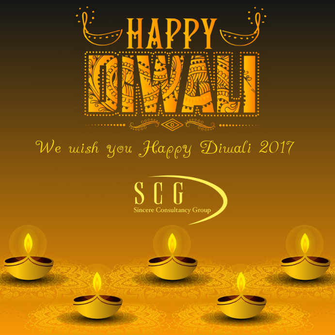 Customizable design templates for greeting card postermywall happy diwali card m4hsunfo