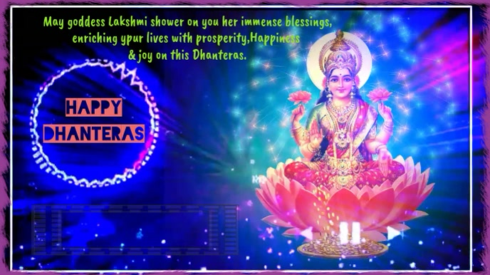 happy dhanteras wishes animated gif