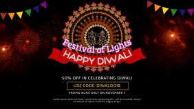 Happy Diwali Indian Festival Video Ad