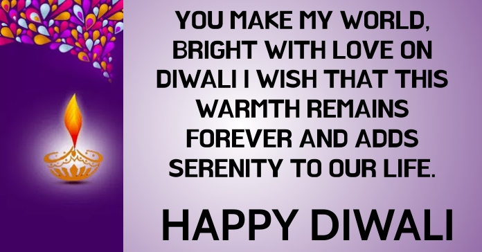 HAPPY DIWALI LIFE TEMPLATE Facebook-annonce