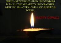 HAPPY DIWALI QUOTE TEMPLATE A6