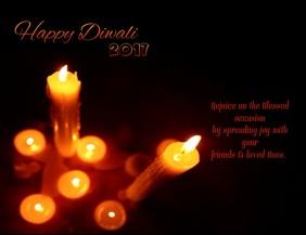 Happy Diwali Video Flyer