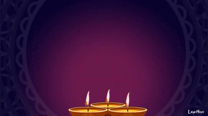 Happy Diwali Wishes Animated video with sound Digital Display (16:9) template
