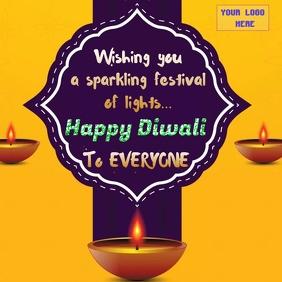 Happy Diwali wishes wallpaer