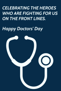 Happy Doctor's Day Template