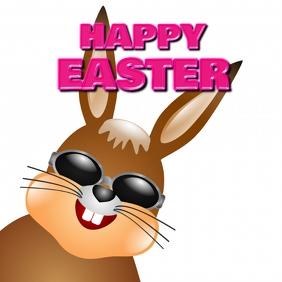 Happy Easter Cool Bunny Rabbit Sunglasses