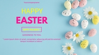 HAPPY EASTER Digitale Vertoning (16:9) template
