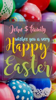 Happy Easter История на Instagram template