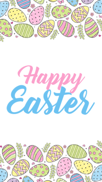 Happy Easter Instagram Story template