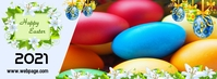 Happy Easter Facebook Cover Photo template