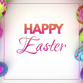 Happy easter eggs Video Greeting Card Wishes