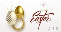 Happy Easter Facebook Cover Obraz udostępniany na Facebooku template