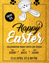 Happy Easter Flyer,Easter Flyer, Easter Egg Hunt