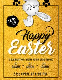 Happy Easter Flyer,Easter Flyer, Easter Egg Hunt