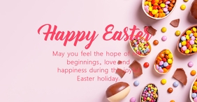 Happy Easter Greetings Message Wishes Text Ad