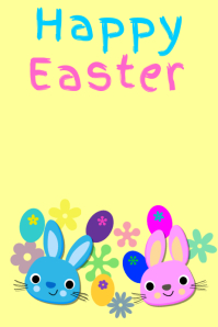 2 590 customizable design templates for happy easter postermywall