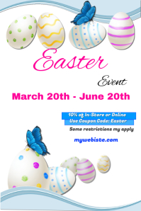 Easter Sales Event Template