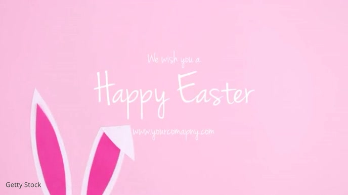 Happy Easter Wishes Greetings Card Romantic
