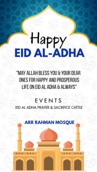 HAPPY EID AL ADHA Instagram Story template