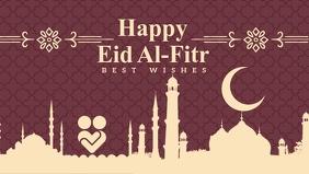Happy Eid Al-Fitr Best Wishes Template