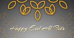 Happy Eid Al Fitr Facebook cover