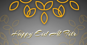 Happy Eid Al Fitr Facebook cover