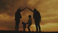 happy family YouTube-miniature template