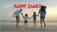 HAPPY FAMILY ภาพปก YouTube Channel template