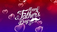 Happy Father's Day Twitter-bericht template